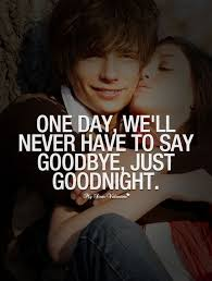 Goodnight Love Quotes For Him Over Text